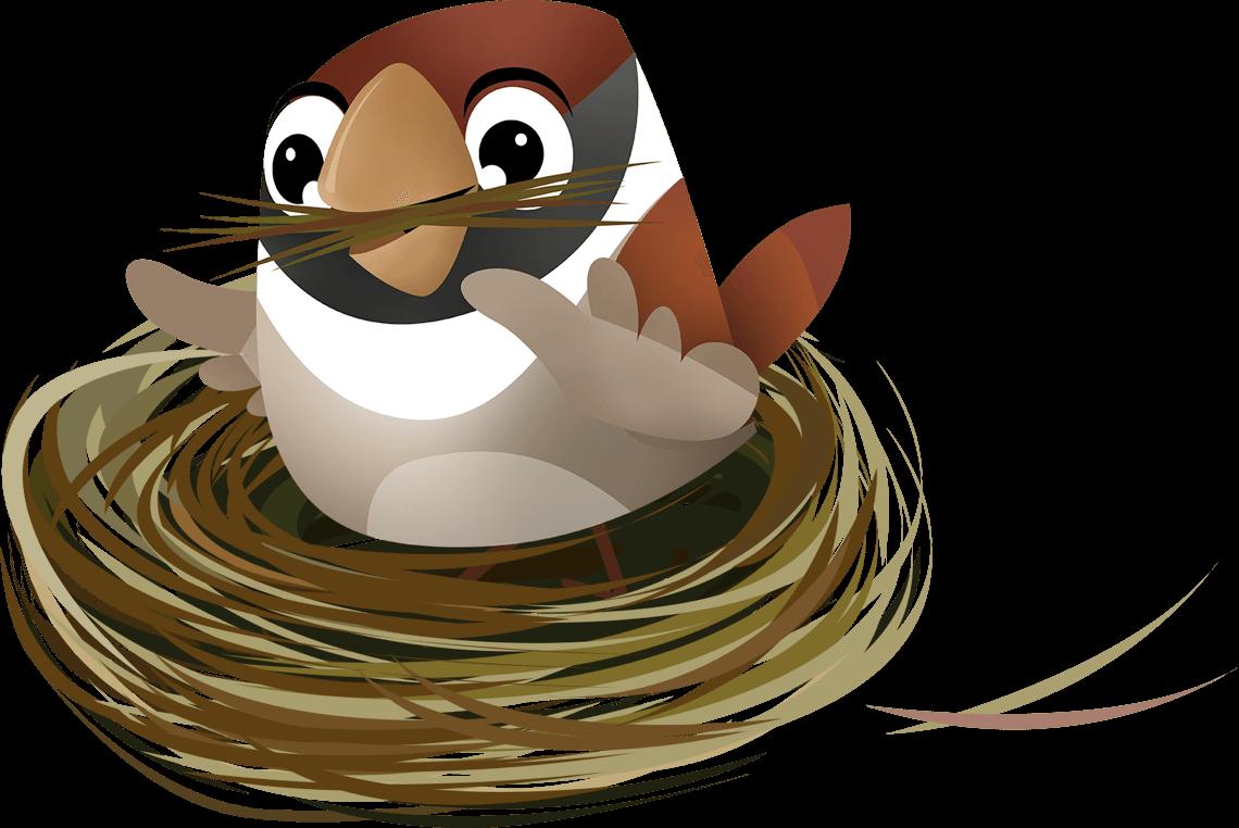 SurveySparrow Mascot