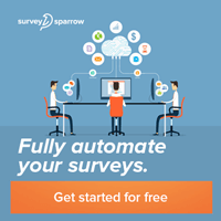 Automate surveys banner for Affiliate Program