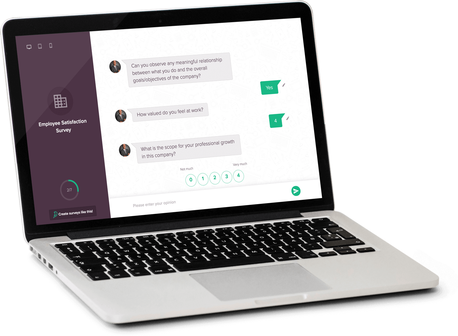 SurveySparrow is the best SurveyGizmo alternative