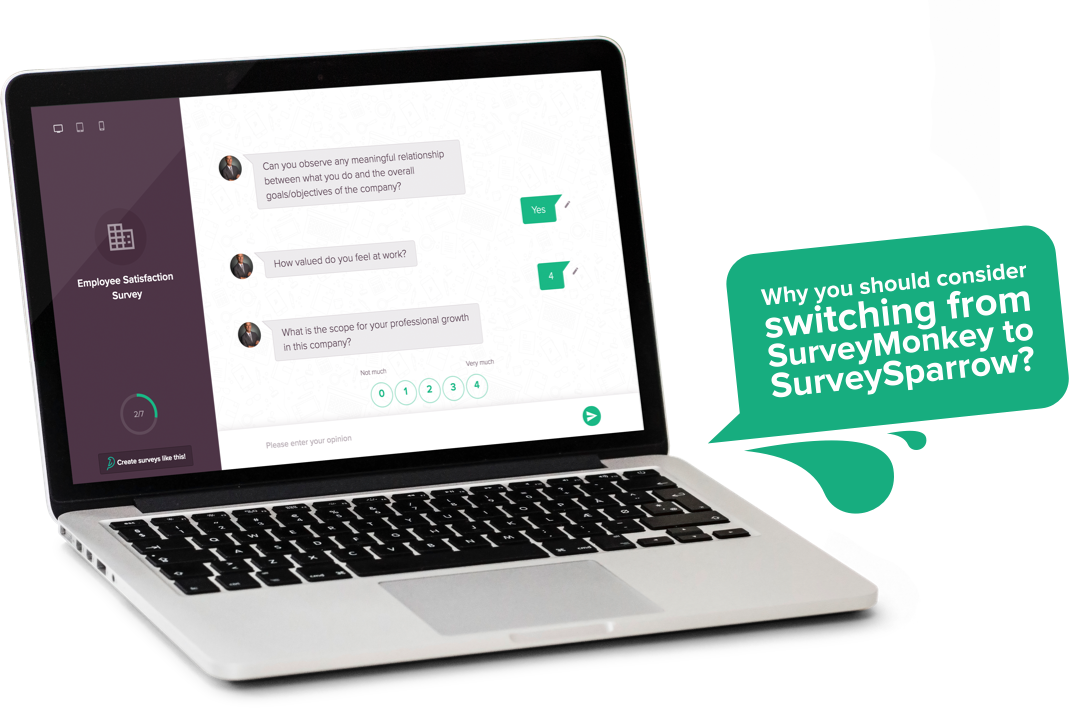 Looking for SurveyMonkey Alternatives? Check out why you should opt for SurveySparrow Online Survey Software