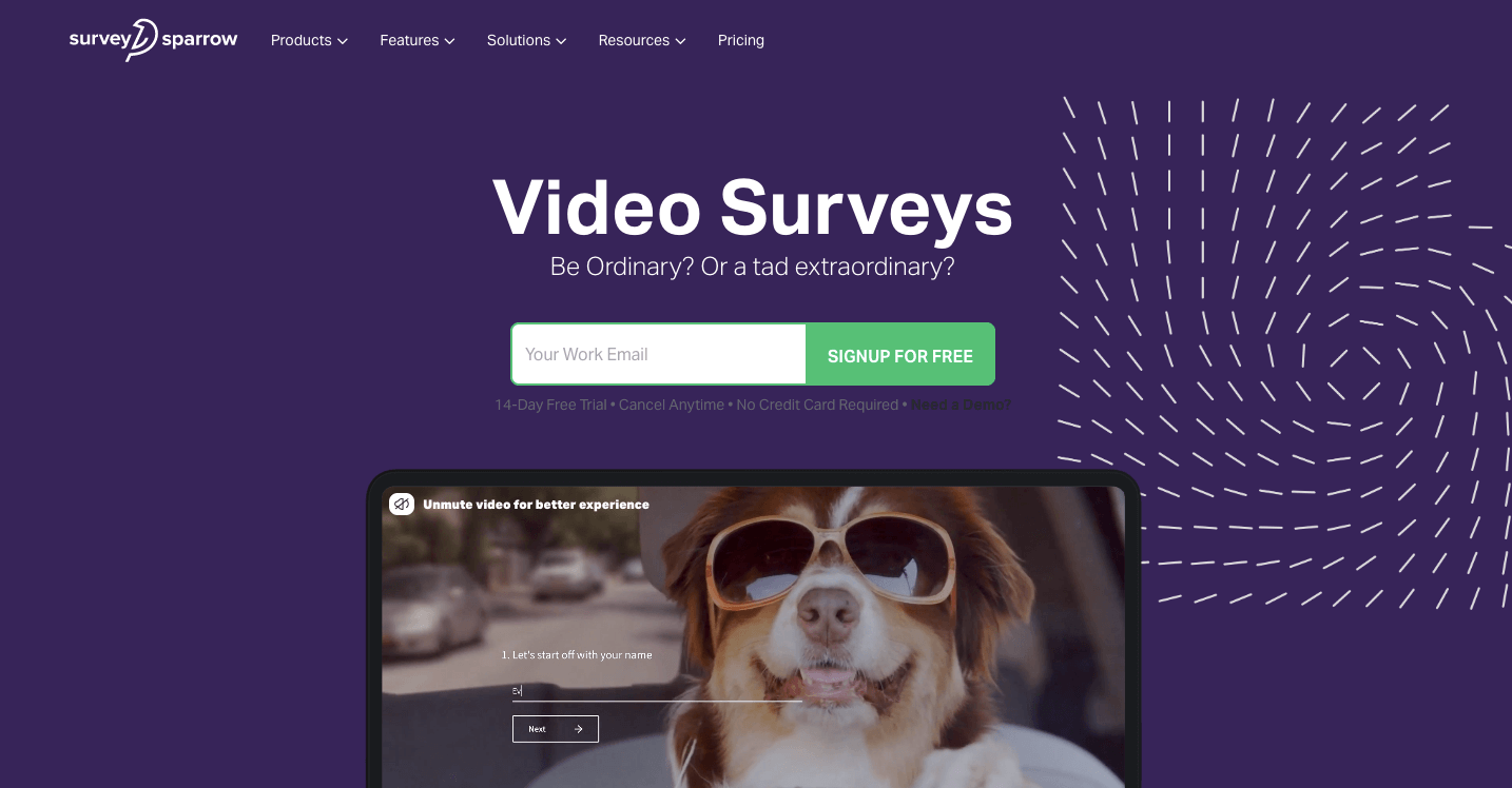 Create a lasting impression on your audience's minds with video surveys.