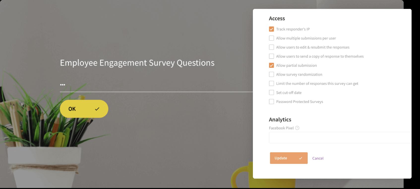 Secure your online surveys with advanced protection techniques.