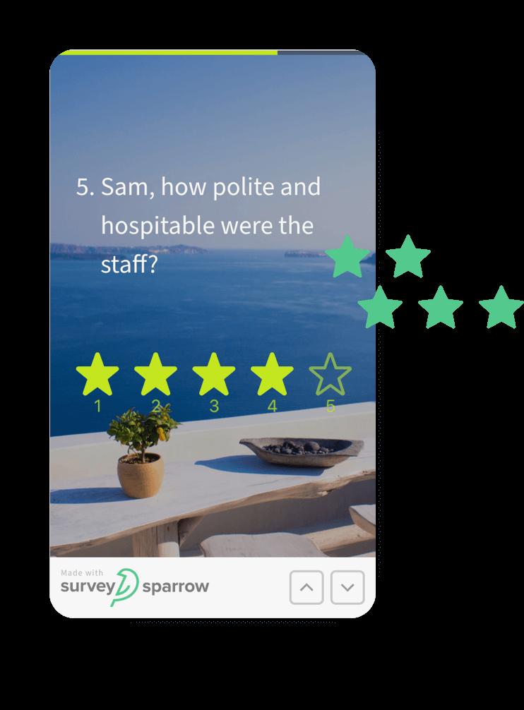 Provide feedback flexibility by opting for mobile-friendly surveys.