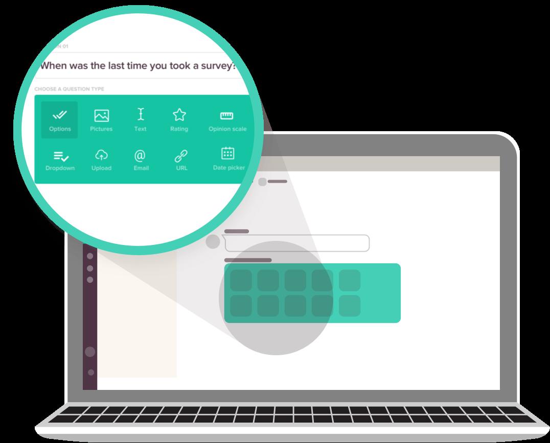 Create online surveys with SurveySparrow