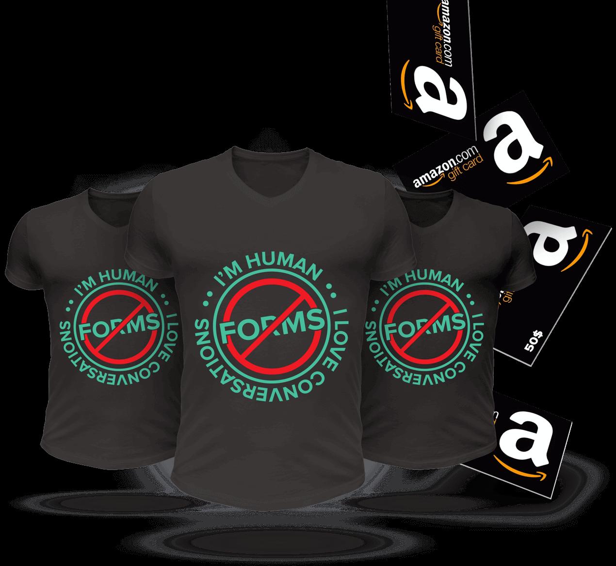 bitcoin-t-shirt-giveaway-surveysparrow