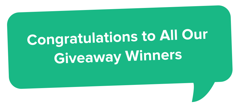 Previous Giveaway Winners SurveySparrow