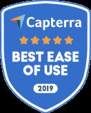 SurveySparrow wurde als Capterras Best Ease of Use Platform ausgezeichnet.