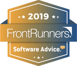 SurveySparrow ranked as  Software Advice FrontRunners 2019