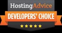 SurveySparrow wurde mit Hosting Advice's Developers' Choice ausgezeichnet