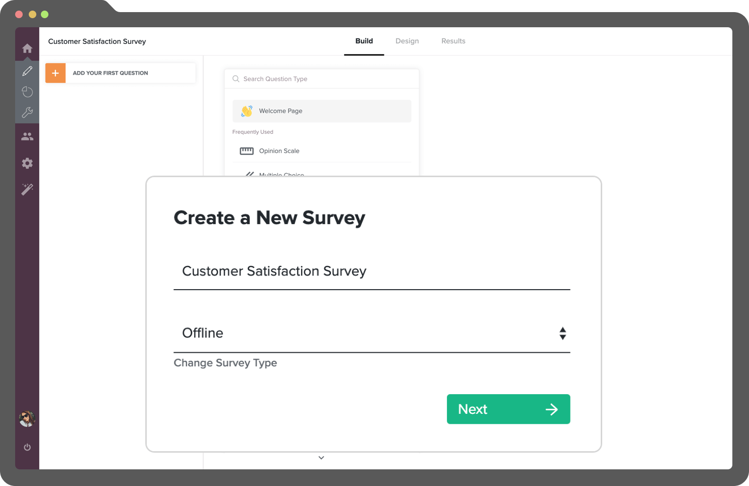 Create crisp offline surveys using your offline survey tool.