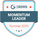SurveySparrow tops the list of G2Crowd Momentum Leader, 2019.