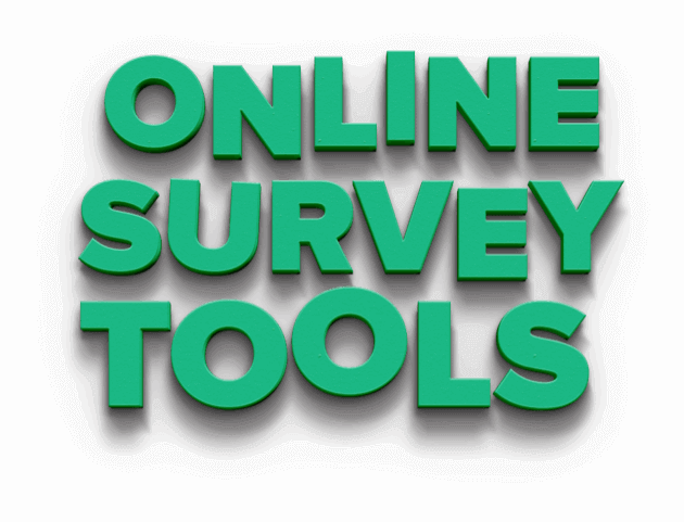 What are online survey tools